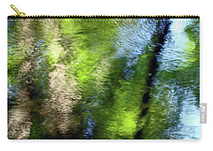 Reflections Carry-all Pouch by Betsy Zimmerli