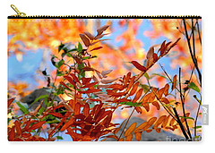 Carry-all Pouch featuring the photograph Reflections by Elfriede Fulda