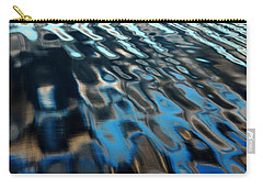 Carry-all Pouch featuring the photograph Reflections From A Dock by Debbie Oppermann