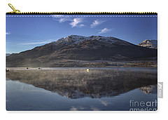Reflections In The Loch Carry-all Pouch by Lynn Bolt