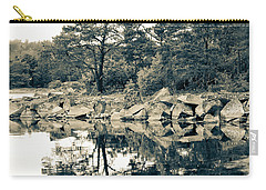 Carry-all Pouch featuring the photograph Reflections by Karen Stahlros