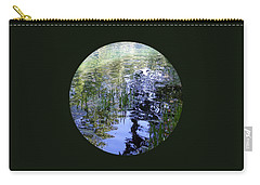 Carry-all Pouch featuring the photograph Reflections  by Mary Wolf