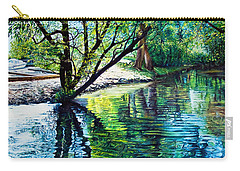 Trees Reflections Carry-all Pouch
