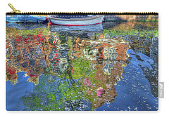 Reflections Of Amsterdam Carry-all Pouch by Nadia Sanowar