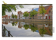 Reflections Of Brugge Carry-all Pouch