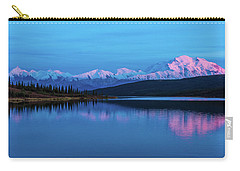 Sunset Reflections Of Denali In Wonder Lake Carry-all Pouch