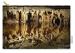 Reflections Of Dream Lake At Luray Caverns Carry-all Pouch by Paul Ward