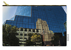 Reflections Of Fort Worth Carry-all Pouch