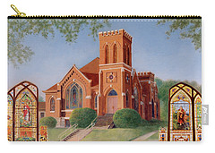 Carry-all Pouch featuring the painting Reflections Of God's Love by Nancy Lee Moran