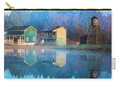 Reflections Of Hope - Hope Valley Art Carry-all Pouch by Jordan Blackstone