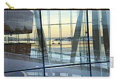 Carry-all Pouch featuring the photograph Reflections Of Oslo by David Chandler