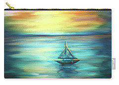 Reflections Of Peace Carry-all Pouch