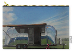 Reflections Of The Airstream Factory Carry-all Pouch