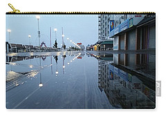 Reflections Of The Boardwalk Carry-all Pouch by Robert Banach