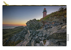 Carry-all Pouch featuring the photograph Reflections Of West Quoddy Head by Rick Berk