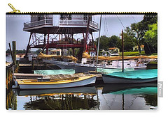 Reflections On Golden Creek Carry-all Pouch by Robert McCubbin