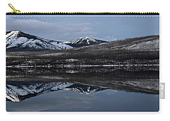 Reflections On Lake Mcdonald 3 Carry-all Pouch