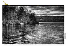 Reflections On Limekiln Lake Carry-all Pouch by David Patterson