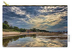 Reflections On The Beach Carry-all Pouch