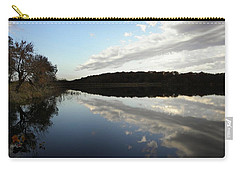 Carry-all Pouch featuring the photograph Reflections On The Lake by Chris Berry