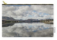 Carry-all Pouch featuring the photograph Reflections On Ullswater by RKAB Works