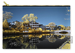 Reflections On Wesley Lake Carry-all Pouch
