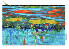 Reflections Sky And Landscape Abstract Carry-all Pouch