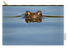 Reflections - Toad In A Lake Carry-all Pouch