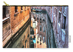 Reflections Venice Italy Carry-all Pouch by Tom Prendergast