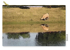 Reflective Cow Carry-all Pouch