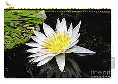Reflective Lily Carry-all Pouch