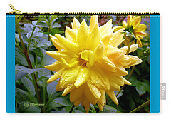 Refreshed Dahlia  Carry-all Pouch