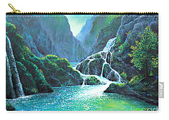 Refreshing Streams Carry-all Pouch by Lou Ann Bagnall