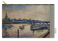 Carry-all Pouch featuring the photograph Regatta Maastricht by Nop Briex