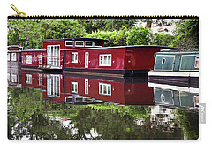 Carry-all Pouch featuring the photograph Regent Houseboats by Keith Armstrong
