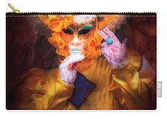 Carry-all Pouch featuring the photograph Regina Di Giale by Jack Torcello