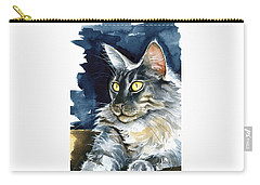 Regina - Maine Coon Painting Carry-all Pouch