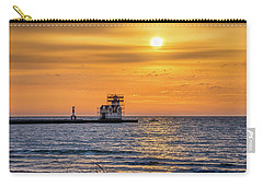 Carry-all Pouch featuring the photograph Rehabilitation Rising by Bill Pevlor
