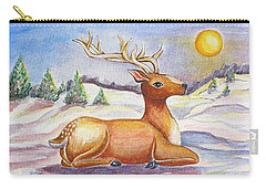 Reindeer Carry-all Pouch
