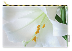 Carry-all Pouch featuring the photograph Rejoice, He Is Risen by Anita Oakley