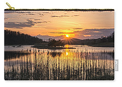 Rejoicing Easter Morning Skies Carry-all Pouch by Angelo Marcialis