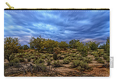 Carry-all Pouch featuring the photograph Rejuvenation Op19 by Mark Myhaver
