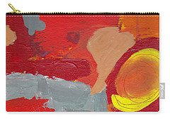 Carry-all Pouch featuring the painting Relax And Enhoy by Patricia Cleasby