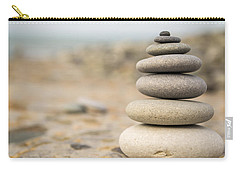 Relaxation Stones Carry-all Pouch by John Williams