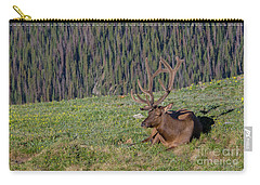 Relaxed Elk Carry-all Pouch by John Roberts