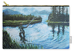 Relaxing @ Fly Fishing Carry-all Pouch