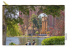 Carry-all Pouch featuring the photograph Relaxing At The Palace by Kate Brown