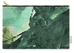 Carry-all Pouch featuring the digital art Relaxing In The Green by Margie Chapman