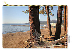 Relaxing On Lake Tahoe Carry-all Pouch