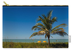 Relaxing Under The Palm Carry-all Pouch
